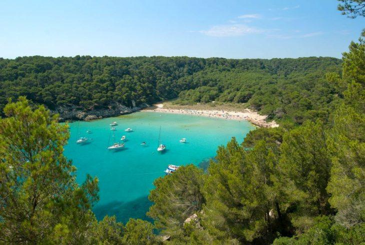 Cala Trebalúger Menorca