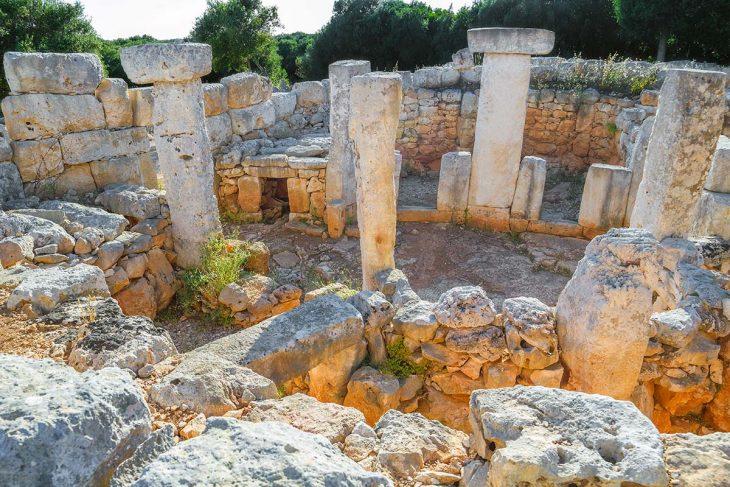 Visitar la Torre d'En Galmés en Menorca