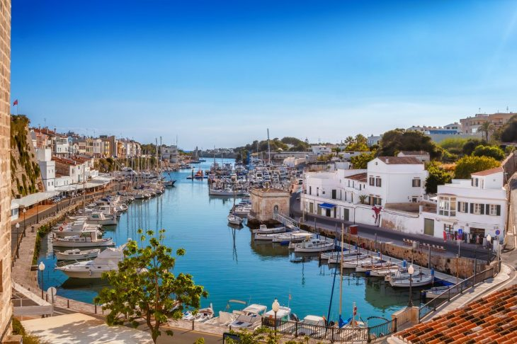 Mejores zonas donde alojarse en Menorca: Ciutadella