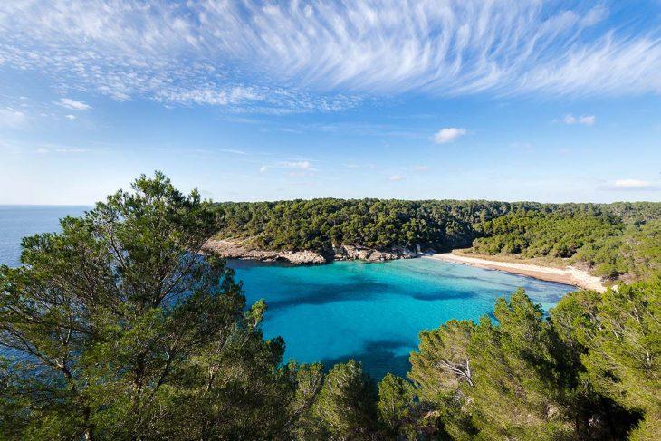 Cómo es el tiempo en Menorca: playa invierno